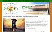 Website of Alfred Current-Rowley Insurance