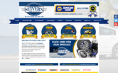 Website of Stiver's Tire & Auto
