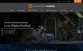 Website of Sarasota Opera