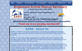 Website of EARS-Englewood Animal Rescue Sanctuary