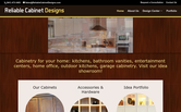 Website of Reliable Cabinet Designs