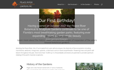 Website of Peace River Botanical & Sculpture Gardens, Inc