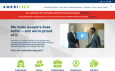 Website of AmeriLife-Ken Kubic Agent