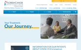 Website of Florida Cancer Specialists