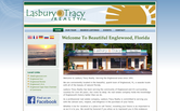 Website of Lasbury Tracy Realty-Judy Canero
