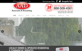 Website of AA Disaster Restoration 24/7, Inc