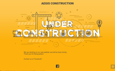 Website of Aegis Construction Services