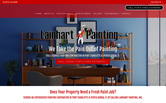 Website of Lainhart Painting, Inc