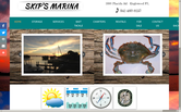 Website of Skip's Marina