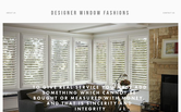 Website of Designer Window Fashions