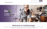 Website of CoAdvantage