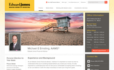 Website of Edward Jones-Michael Ernsting