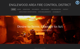 Website of Kevin Easton, Fire Chief