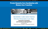 Website of Memory Care Solutions