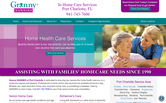 Website of Granny Nannies