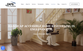 Website of CAPS Remodeling