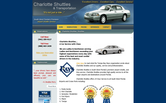 Website of Charlotte Shuttles