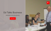 Website of Ed Talks Business