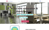 Website of Xtra Mile Restoration and Handyman Services