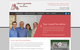 Website of Barco's Accounting and Tax Service