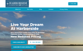 Website of Harborside El Jobean