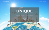 Website of Unique Travel Associates, LLC