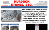 Website of Murdock Stones, Etc.