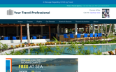 Website of Time 2 Travel Agency