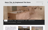 Website of Mann Tile, Inc.