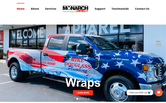 Website of Monarch Direct