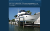 Website of Bennett Marine Construction, Inc.