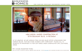 Website of Edgewater Homes