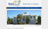 Website of Truex Preferred Construction, LLC