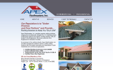 Website of APEX Roofmasters, Inc.