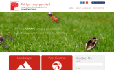 Website of Phillips Landscape Contractors, Inc.