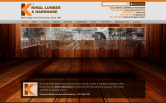 Website of Kimal Lumber & Hardware