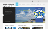 Website of Lemon Bay Glass & Mirror