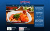 Website of Howards Restaurant