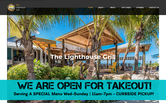Website of The Lighthouse Grill at Stump Pass