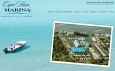 Website of Cape Haze Marina