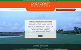 Website of Golf Coast Magazine
