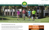 Website of Boca Royale Golf & Country Club