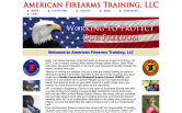 Website of American Firearms Training, LLC
