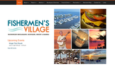 Website of Fishermen's Village Waterfront Mall, Resort & Marina