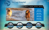 Website of Englewood Animal Health Center