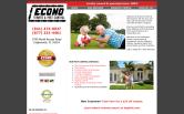 Website of Econo Termite & Pest Control