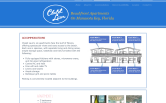 Website of Chalet Laun Beach Front Apts.