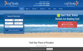 Website of Gulf Realty & Associates