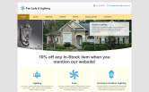 Website of Fan Lady & Lighting, Inc.