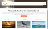 Website of SunBurst Condominium Association, Inc.